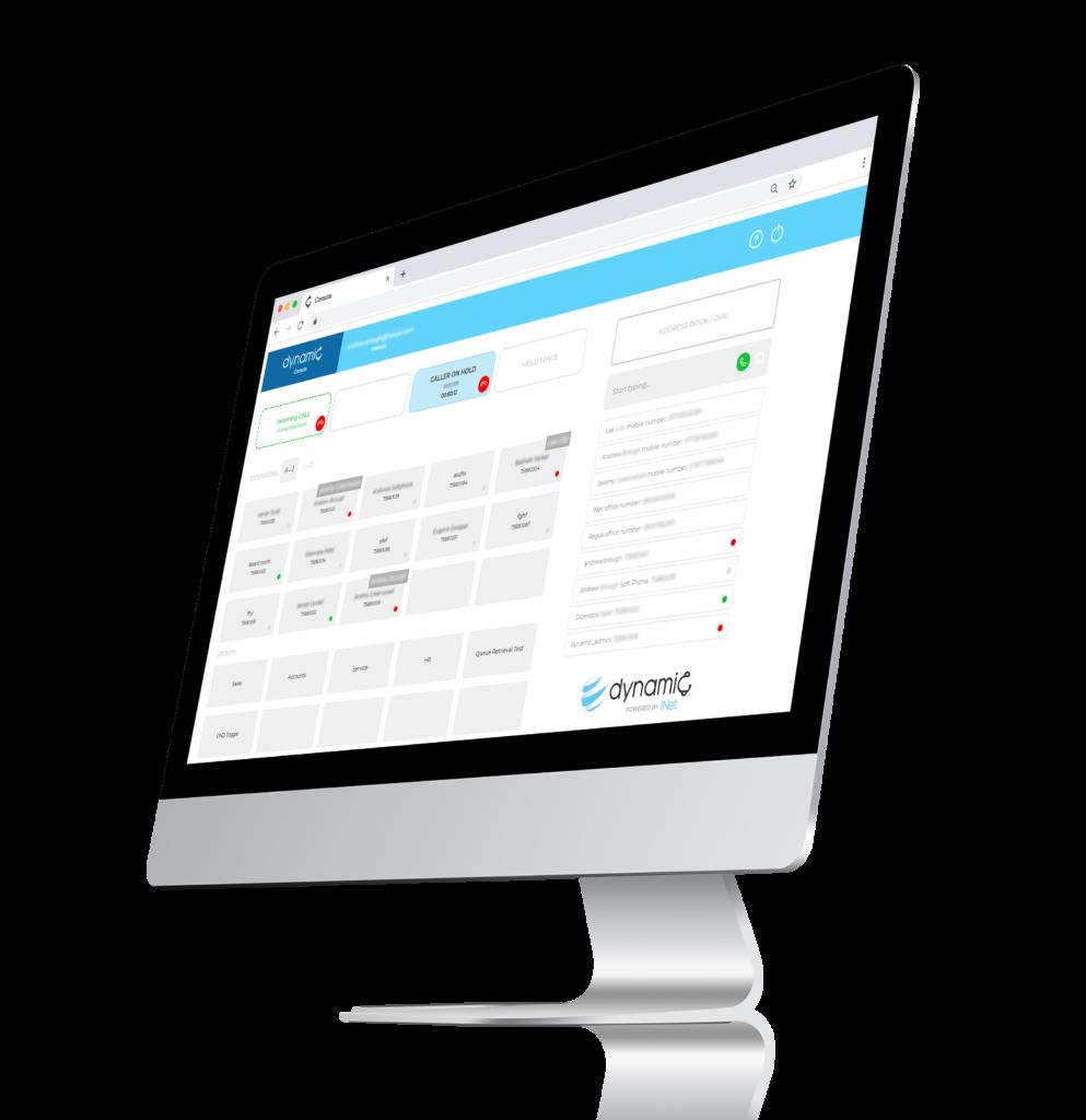 Dynamic PBX & Reception Console