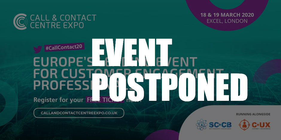CCCExpo 2020 Postponed until 15-16 September 2020