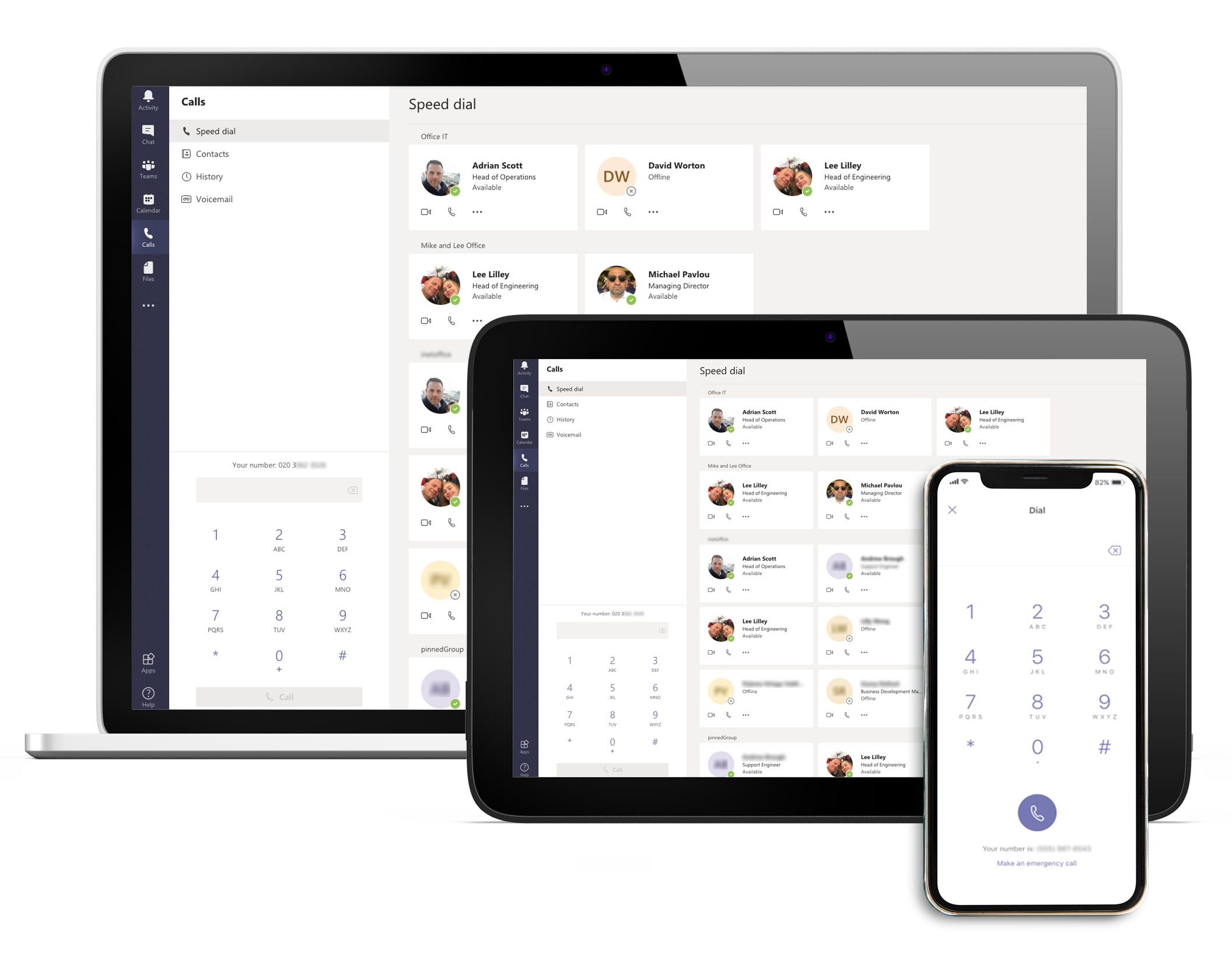 Voice Enabled Microsoft Teams
